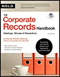 img - for Corporate Records Handbook (text only) 4th (Fourth) edition by A. M. Attorney book / textbook / text book
