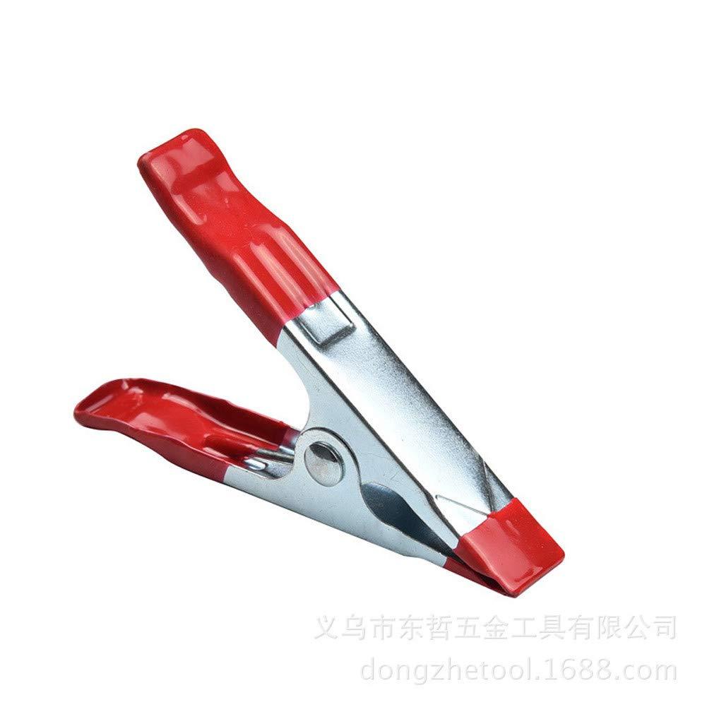 rouge Ysyang Stand de pinces Ressort Clips support menuiserie Pince pour grande B/âche Studio photo toiles de fond 5pc