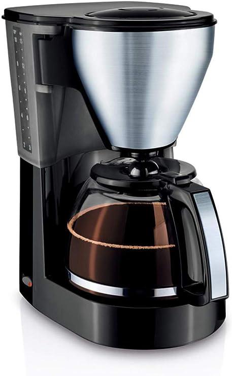 Filtro de café de la máquina, Cafetera de Goteo Cafetera Goteo con 1 l Jarro de Cristal Desmontable Anti-Goteo Diseño Mantenga Caliente 1050W DDLS: Amazon.es: Hogar