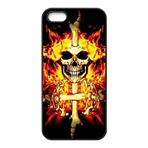 EZCASE Skull Phone Case For iPhone 5,5S [Pattern-4]