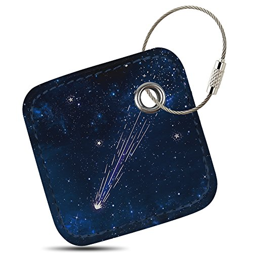 - Case for Tile Mate/Tile Sport/Tile Style - Key Finder, Phone Finder, Anything Finder, Tile Mate Accessories, Lether Case Cover for Tile Mate with Anti-lost Design, Galaxy, By Logity.