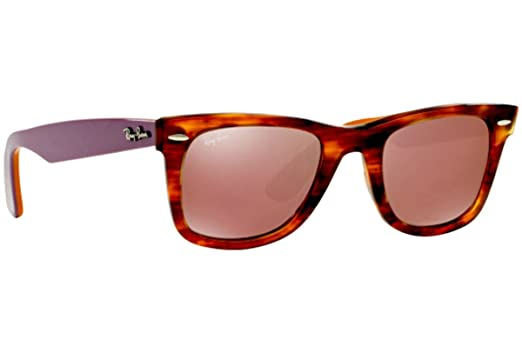 16a42e3d81 ... spain ray ban havana red mirror wayfarers rb 2140 11772k 54mm sd  glassescleaning 68a90 62033