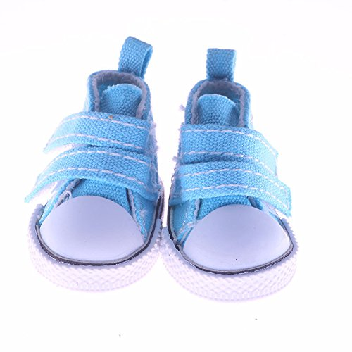 Bleu Driverder 14 Pouces Jolie Fille poup/ée Chaussures Robe de poup/ée Jouet Accessoires