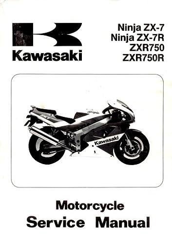 kawasaki ninja zx 7 ninja zx 7r zxr750 zxr750r motorcycloe rh amazon com kawasaki vn 750 service manual chomikuj kawasaki vulcan 750 service manual