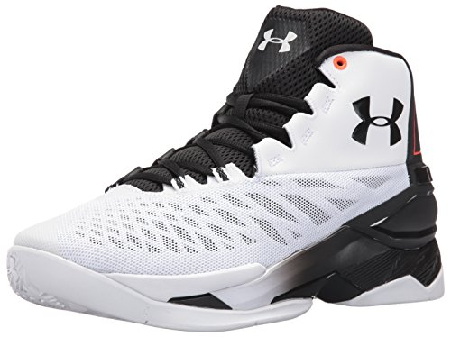 Under Armour Longshot Basketballschuhe White/Phoenix Fire/Black
