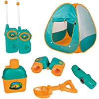 12 Piece Kids Tent Camping Set – Includes Big Tent,...