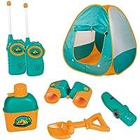 12 Piece Kids Tent Camping Set – Includes Big Tent,...