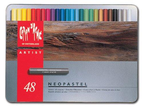 Caran d'Ache Neopastels, Set of 48