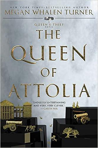 Amazon.com: The Queen of Attolia (Queen's Thief) (9780062642974): Turner,  Megan Whalen: Books