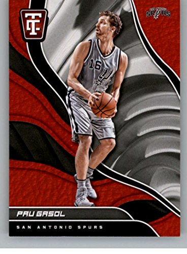 2017-18 TOTALLY CERTIFIED #65 PAU GASOL SPURS BASKETBALL