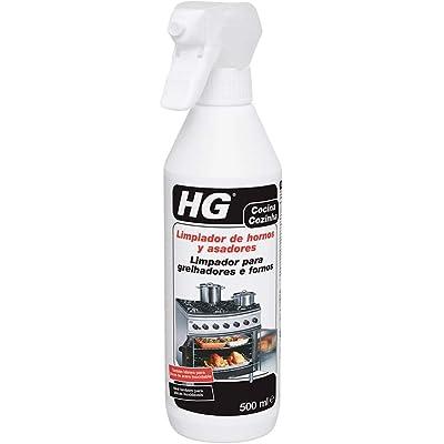 HG 138050130 asadores 500 ml-eficaz Limpiador de hornos Que Elimina la Grasa apelmazada y quemada