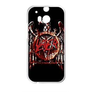 Custom Rock Band Slayer Phone Case Protective Case For HTC One M8