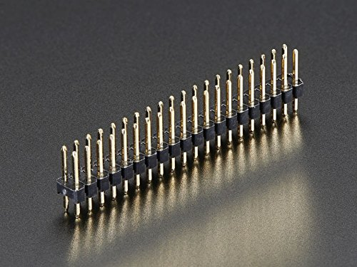 Adafruit Break-away 0.1 2x20-pin Strip Dual Male Header...