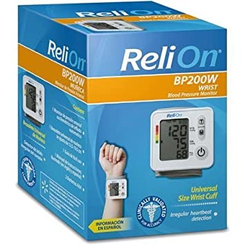 Amazon Relion Bp 200w Wrist Blood Pressure Monitor By Reli On