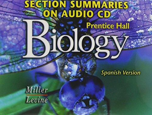 PRENTICE HALL MILLER LEVINE BIOLOGY SECTION SUMMARIES ON CDROM SPANISH 2004C