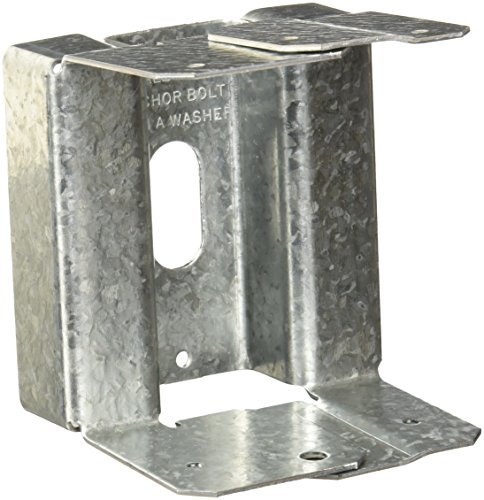 Simpson Strong Tie ABA44Z Z-Max 4 by 4 Adjustable Post Base (Anchors Post Simpson)
