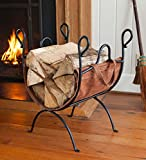 Cheap Folding Log Rack with Leather Sling – 21 L x 15 W x 24.5 H