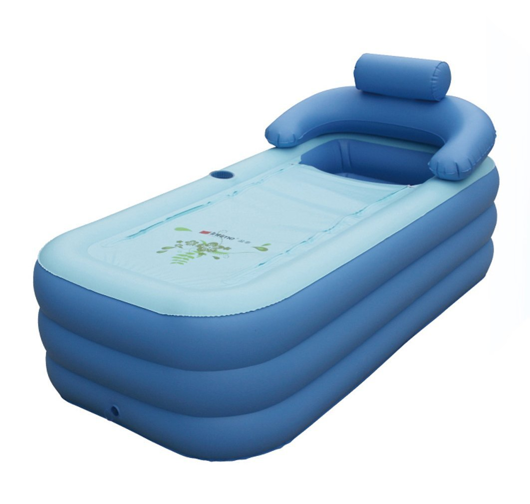 Intime Foldable Inflatable Thick Warm Adults\' Bathtub Children\'S ...