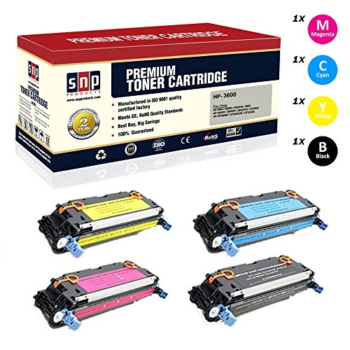 SNP Compatible Toner Cartridge HP 3600 (Q6470A), HP 502A, Q6471A, Q6472A Q6473A Compatible with–HP 3600, 3600N, 3600DN, 3800, 3800N, 3800DN, 3800DTN, CP3505, CP3505N, CP3505DN, CP3505X