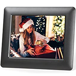 Micca M703 7-Inch 800x600 High Resolution Digital Photo Frame With Auto On/Off Timer (Black)