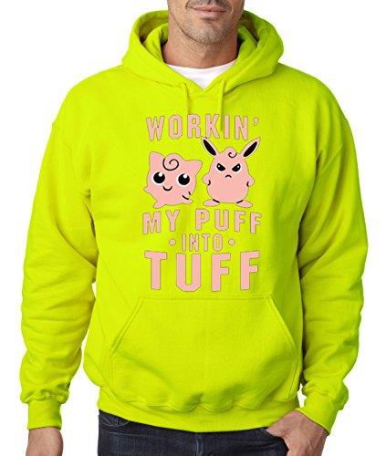 allwitty 1020 - Hoodie Workin My Puff Into Tuff Jigglypuf...