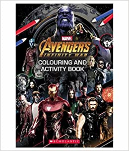 Buy Marvel Avengers Infinity War Colouring And Activity Book Book