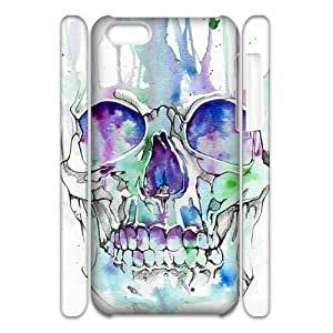 linJUN FENGskull 3D-Printed ZLB816441 Unique Design 3D Phone Case for iphone 6 4.7 inch