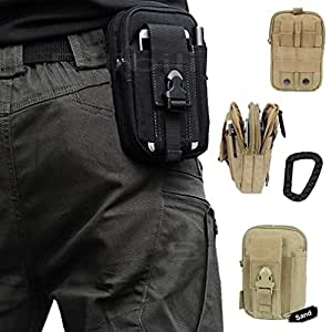 Bilibili Artcraft Sand Molle Camo Bag Military 1000D Nylon Utility Tough Heavy Duty Tactical Compatible Waist Bag