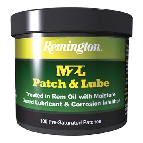 Remington Accessories 16374, Mzl Patches, Patch & Lube, per 100