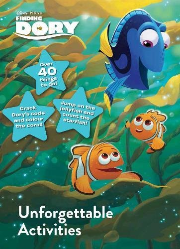 Disney Pixar Finding Dory Unforgettable Activities Colour; Sticker & Activity