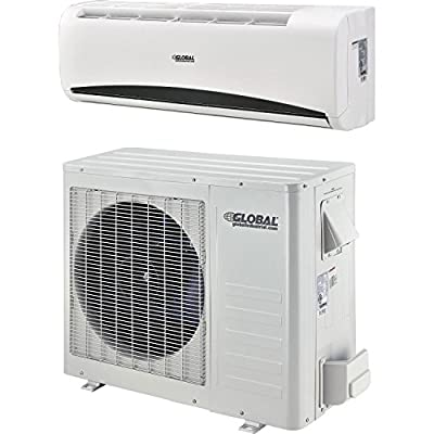 Ductless Air Conditioner, 18000 Btu, Seer 20