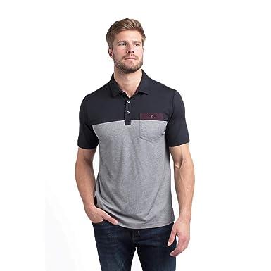03391cb9f Amazon.com: Travis Mathew Premium Economy Polo Golf Shirt Black ...