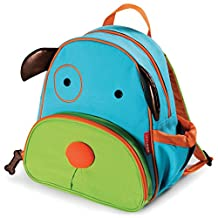 """Skip Hop Zoo Insulated Toddler Backpack Darby Dog, 12"""" School Bag,"""