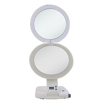 Amazon Com Zadro Next Generation 1x 10x Lighted Travel Mirror