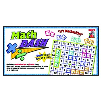 Amazon.com: Math Dash Game: Multiplication & Division: Office Products
