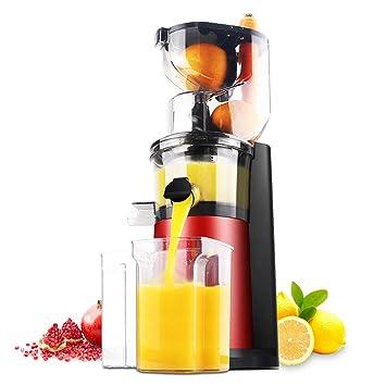Máquina Exprimidora Máquina De Jugos De Frutas Enteras Con Canal De Alimentación De 80 Mm,