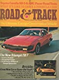 img - for Road & Track Magazine, April 1975 (Vol 26, No 8) book / textbook / text book