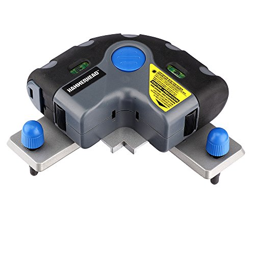 HAMMERHEAD HLFL01 Flooring Laser, installation for Tile, Floor Alignment,Wallpaper & More with Storage Bag