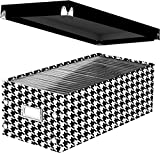"Snap-N-Store DVD Storage Box, 6"" x 8.25"" x"