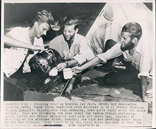 1947 Memphis TN Vagabond French Explorer Louis Joliet Jaques Jean Press - Louis Joliet