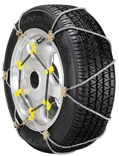 Security Chain Company SZ339 Shur Grip Super Z Passenger Car Tire Traction Chain - Set of 2