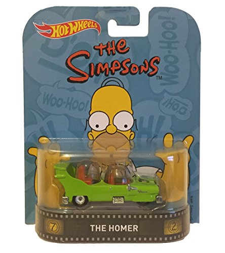 Hot Wheels Retro Entertainment Diecast The Homer Vehicle (House Simpsons Scale)