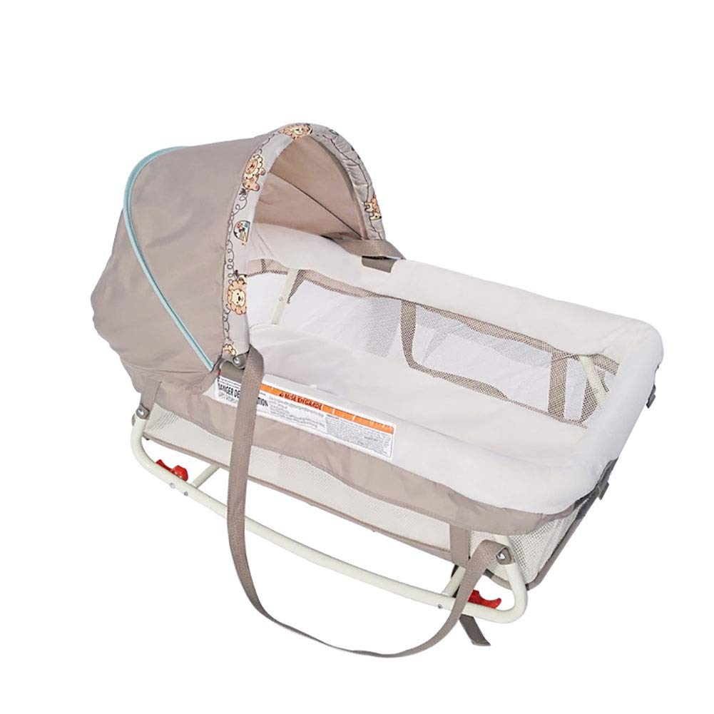 HLR-Travel Beds Crib Travel Portable Car-Mounted Anti-Pressure Sleeping Basket Out of The Portable Cradle Bed (Size : C) by HLR