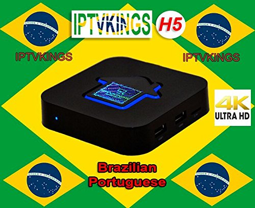UPC 659436048409, IPTVKINGS H5 4K CANAIS DO BRAZIL Português Brasileiro Android IPTV HD Filmes OnDemand and Adulto TV Brasileiros
