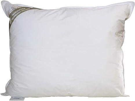 Hofmann Franken Kissen Kopfkissen Federkissen 45x45 cm 15/% Daunen 250 g waschbar