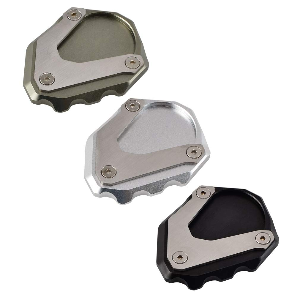 Alina-Shops Sidestand Pedal Foot Kickstand Pad Kick Stand Extension Mounting Plate For BMW R Nine T 2014 2015 RnineT Billet