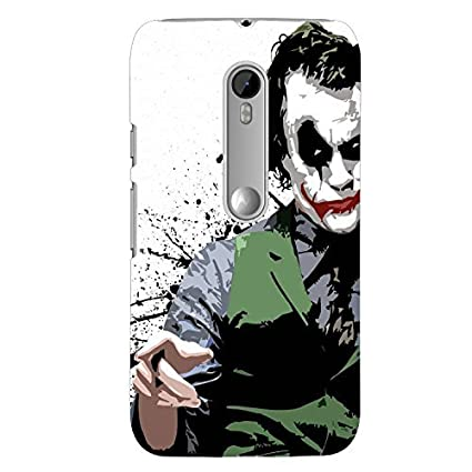 buy online 76bc8 2d330 Clapcart Joker Printed Back Cover for Moto G 3rd Gen: Amazon.in ...