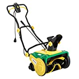 Outsunny 20'' Electric 13 Amp Corded Snow Blower with Wheels