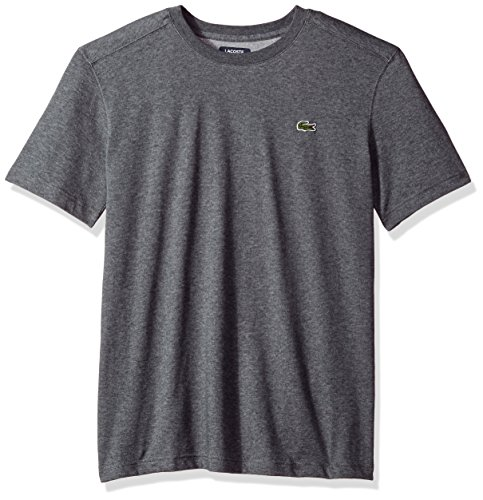 Lacoste Men's Short Sleeve Jersey T-Shirt, Th7618, Pitch, (Lacoste T-shirt Short)