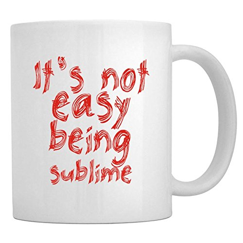 Teeburon Its Not Easy Being Sublime Mug